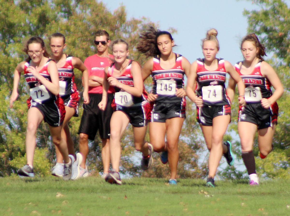 Elmwood-Murdock Weeping Water girls start race