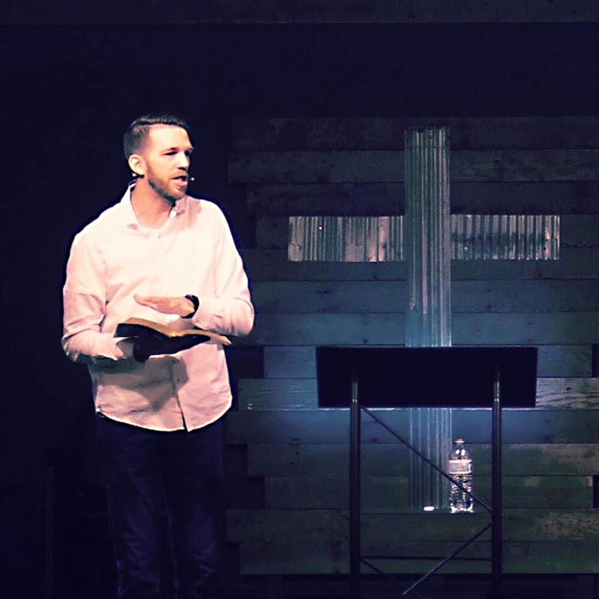 Pastor JJ preaching