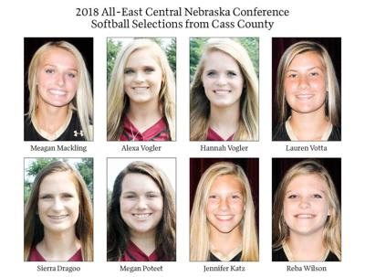 2018 All-East Central Nebraska Conference Softball Selections from Cass County