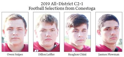 2019 All-District C2-1 Football Selections from Conestoga