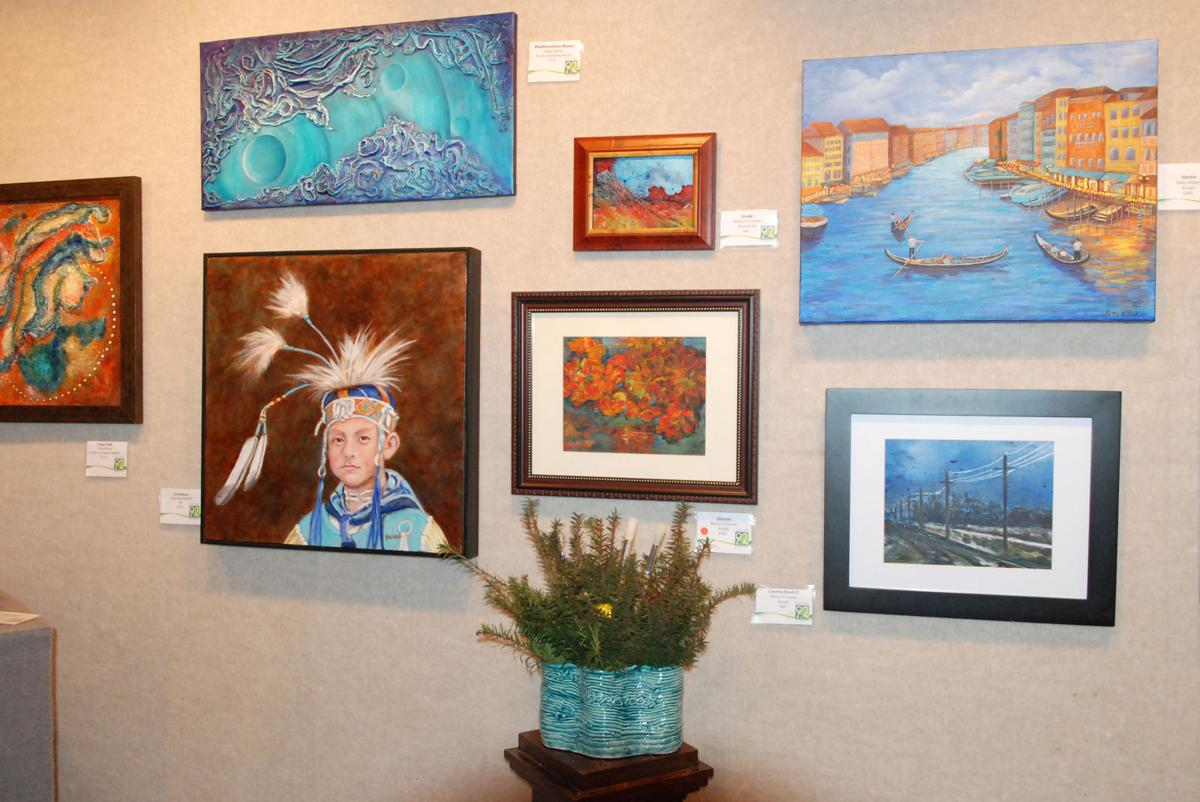 Artwork in new exhibit by 3 women