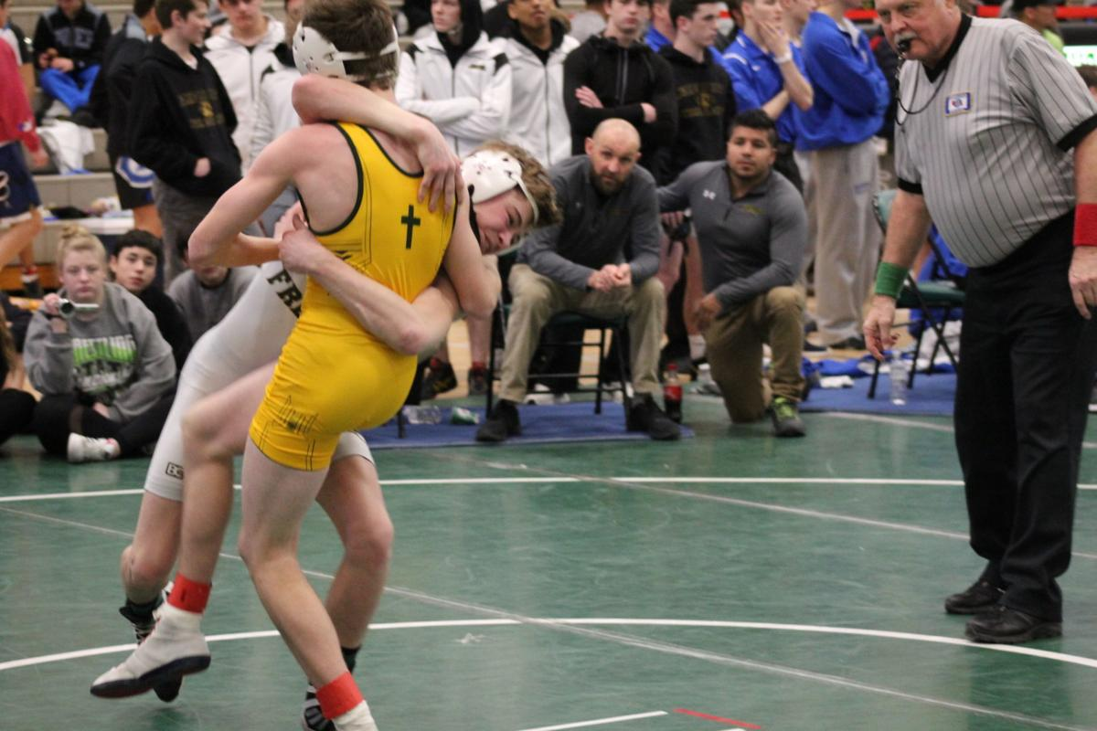Cody Fielder at districts