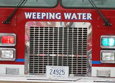 Weeping Water fire department