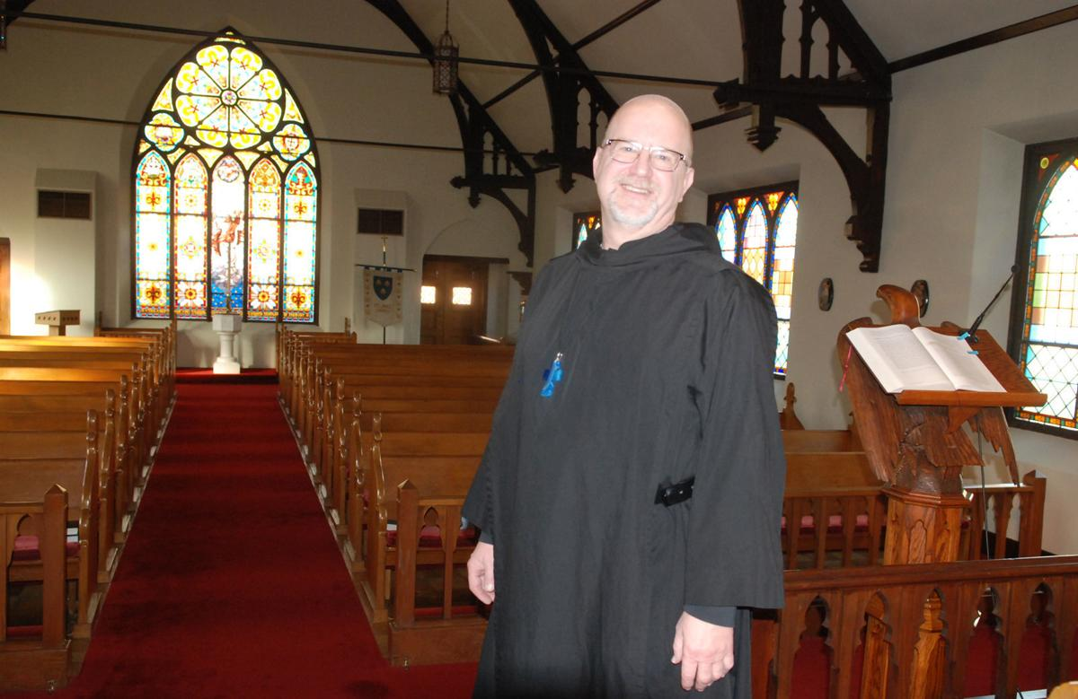 New priest at St. James' Episcopal Church sanctuary