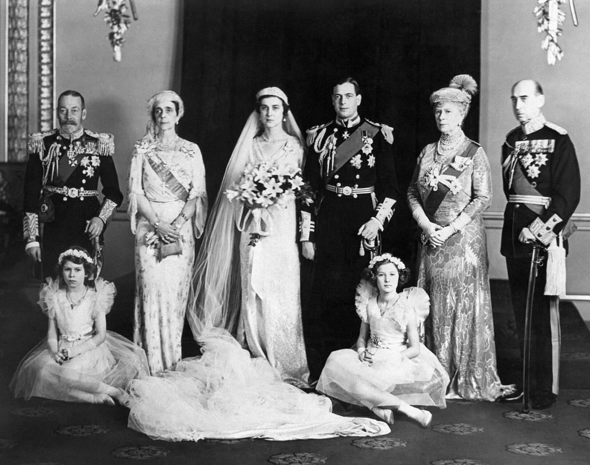 King George V, Princess Marina, Prince George
