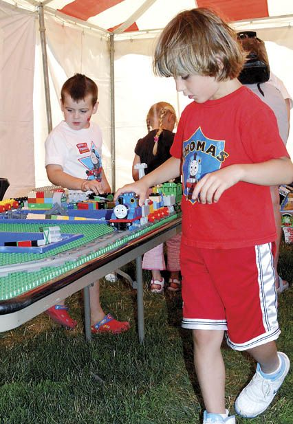 Kids' faces light up for A Day Out With Thomas
