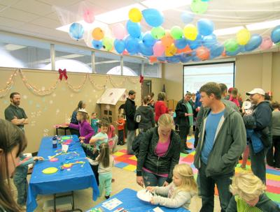 Keene Library's Noon Year's Eve event
