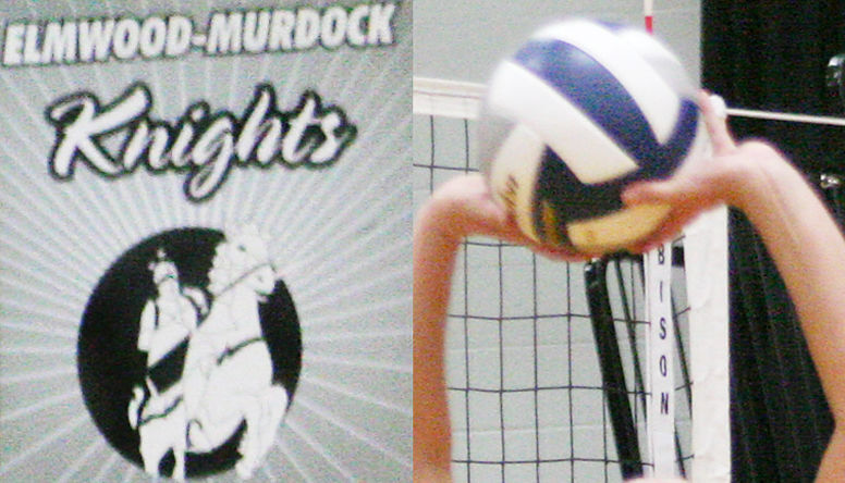 Elmwood-Murdock volleyball