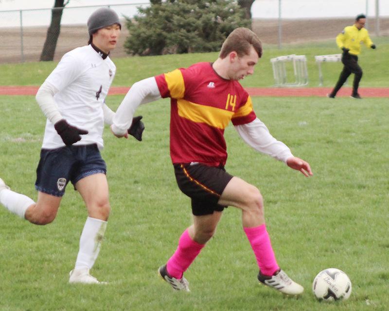 Mason Jensen against Omaha Concordia
