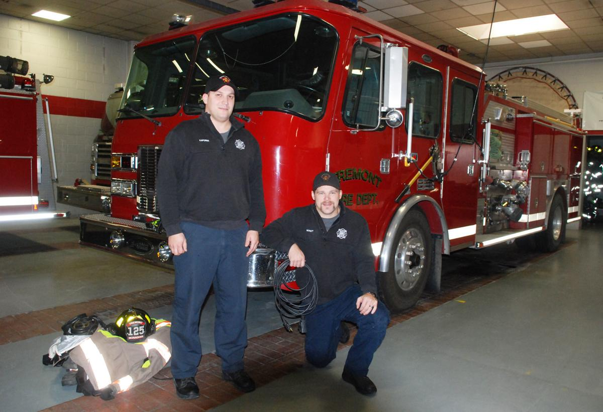 Firefighters talk about safety