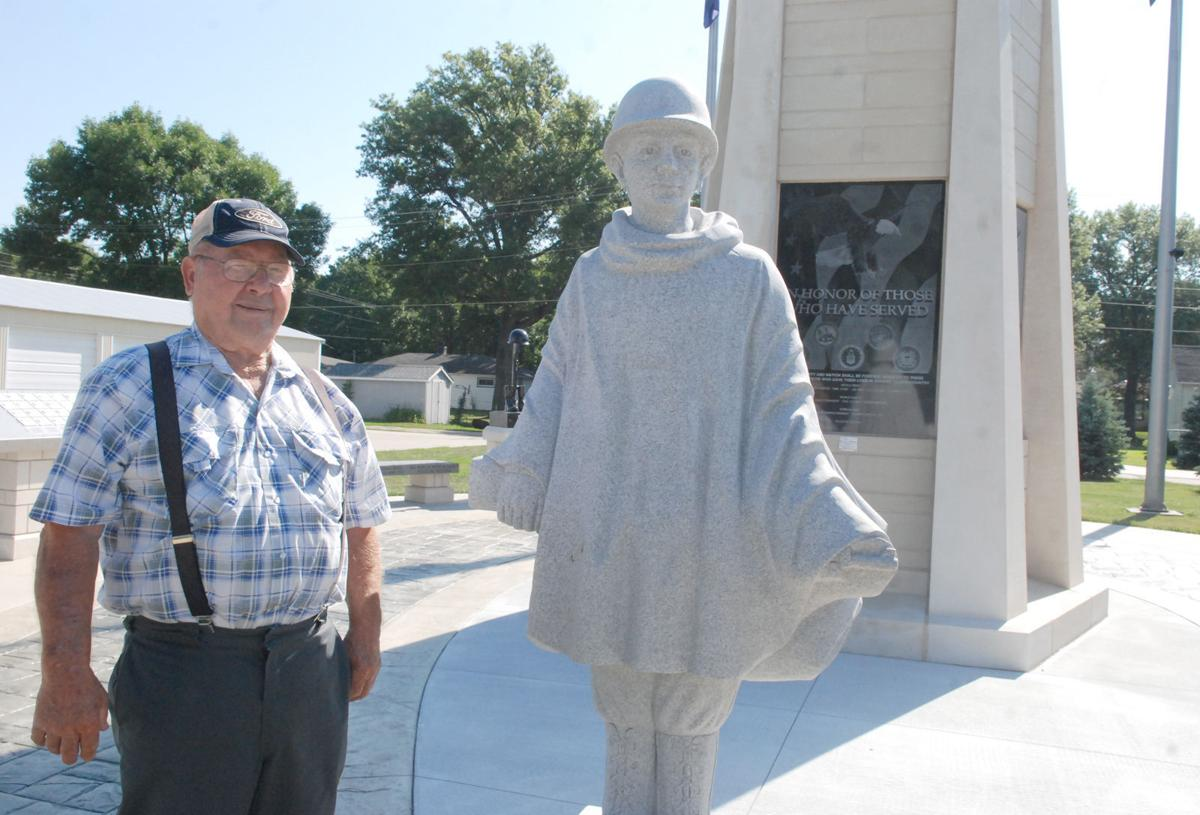 Veterans Memorial in Dodge