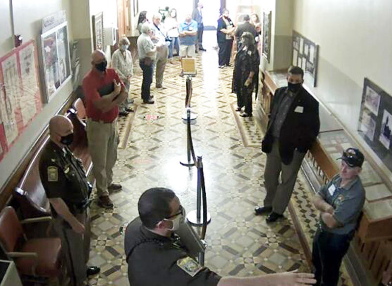 courthouse security photo