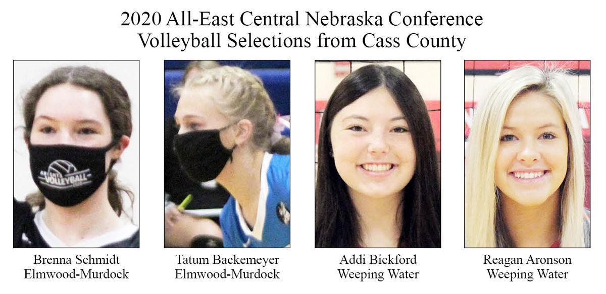 2020 All-East Central Nebraska Conference Volleyball Selections from Cass County