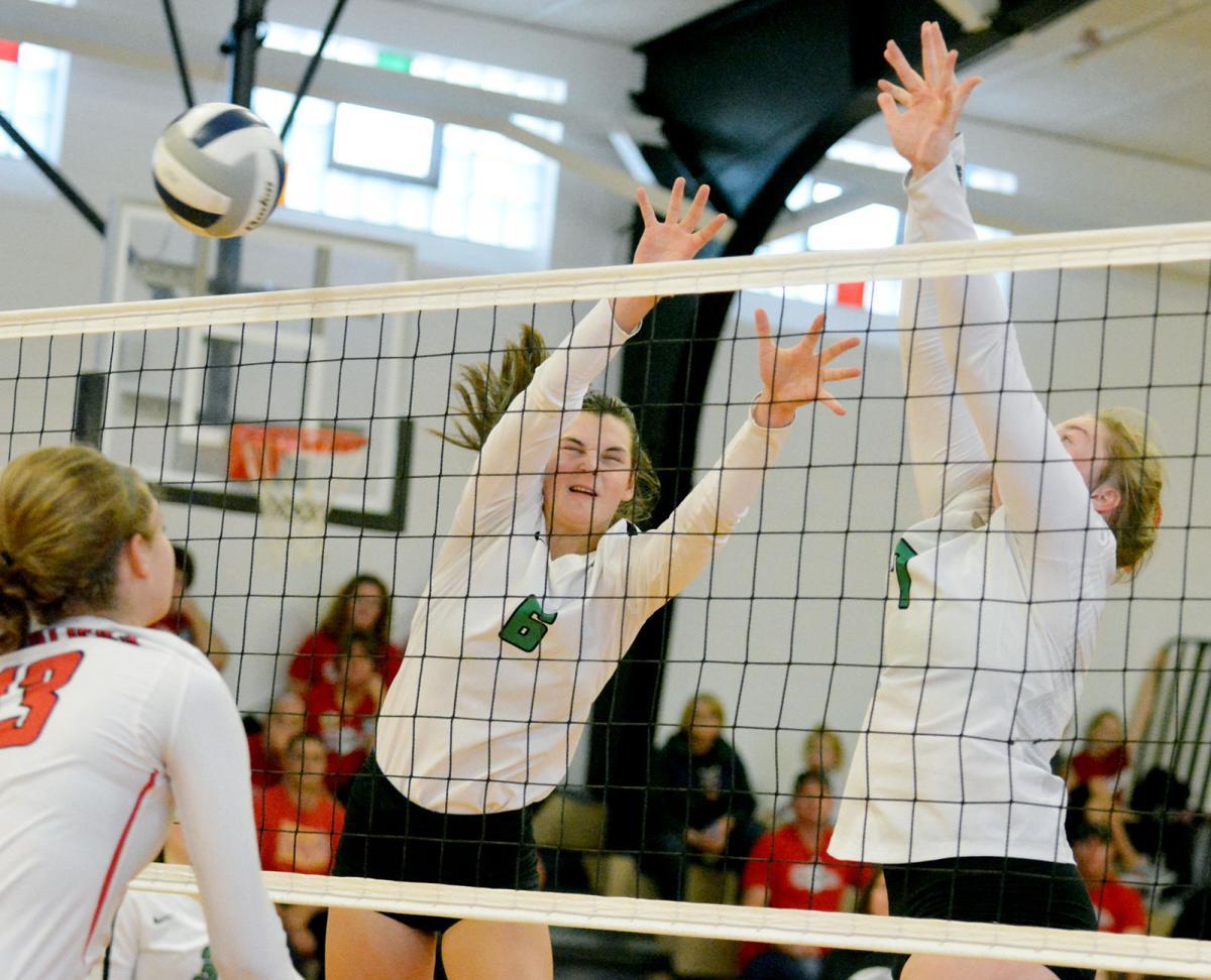 bergan volleyball centennial