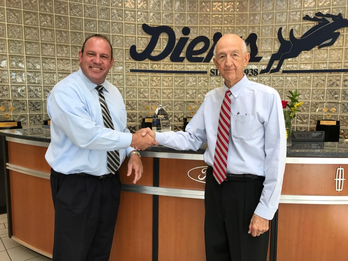 Ford Credit Recognizes Charlie Diers Local