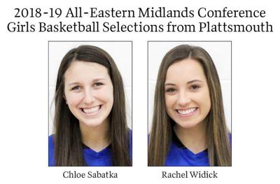 2018-19 All-Eastern Midlands Conference Girls Basketball Selections from Plattsmouth
