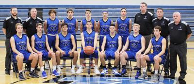 2018-19 Plattsmouth varsity boys basketball team photo