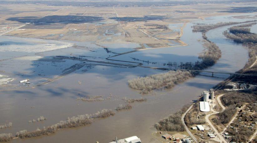 Missouri River flooding, Nebraska City