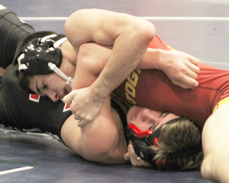 Jaemes Plowman wins match