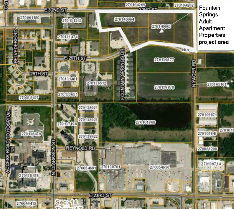 Fountain Springs Apartments: Yager Complex Moves Forward