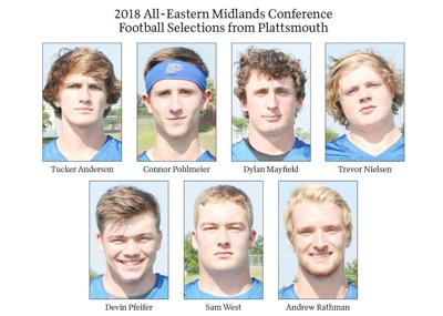 2018 All-Eastern Midlands Conference Football Selections from Plattsmouth