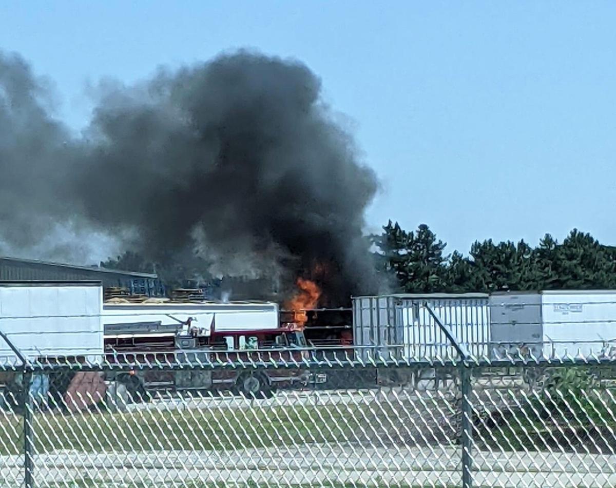 Fire at Palleton