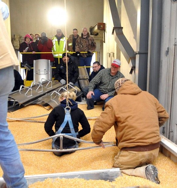 Firefighters train with new equipment