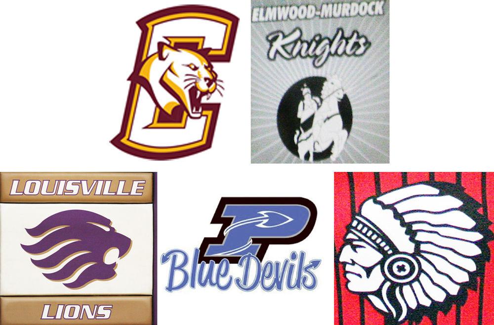 Cass County school logos