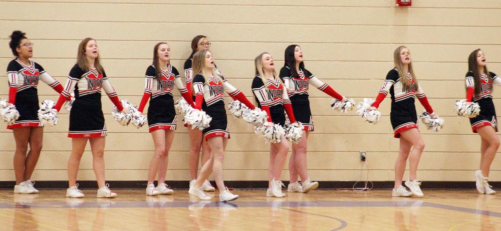 Weeping Water cheerleaders photo