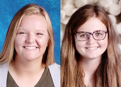Sydni Haugaard and Emily Martin Plattsmouth Girls State