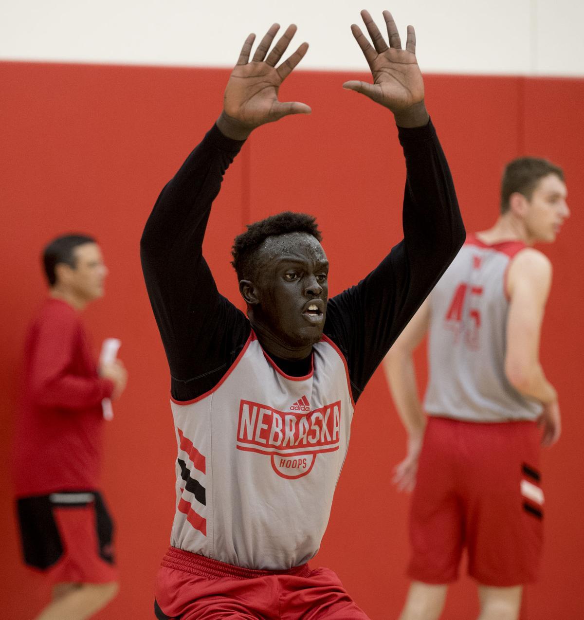 NU Men's Basketball Practice, 9.25.18