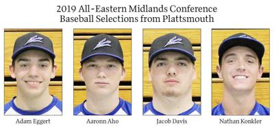 2019 All-Eastern Midlands Conference Baseball Selections from Plattsmouth