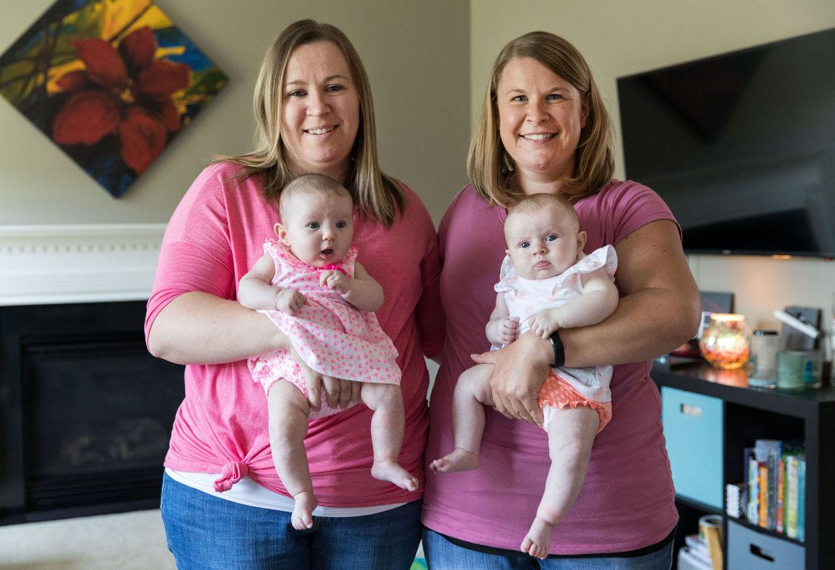 Omaha couple had fertility problems, so woman's sister carried their twins