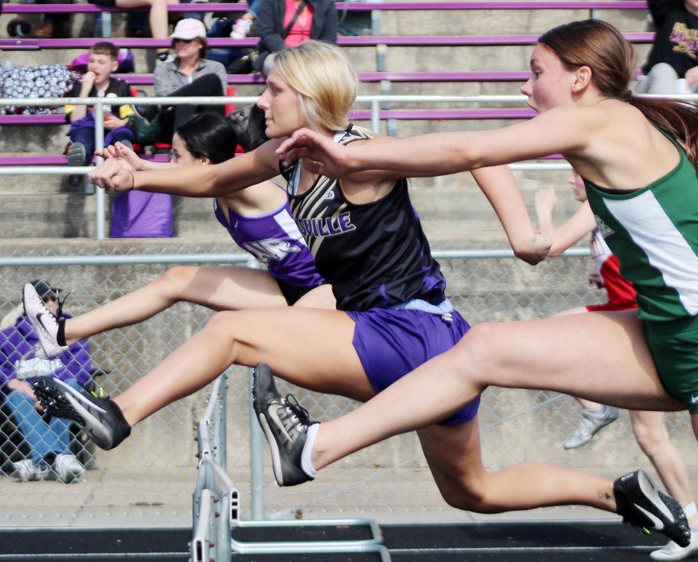 Louisville Meagan Mackling 100 hurdles