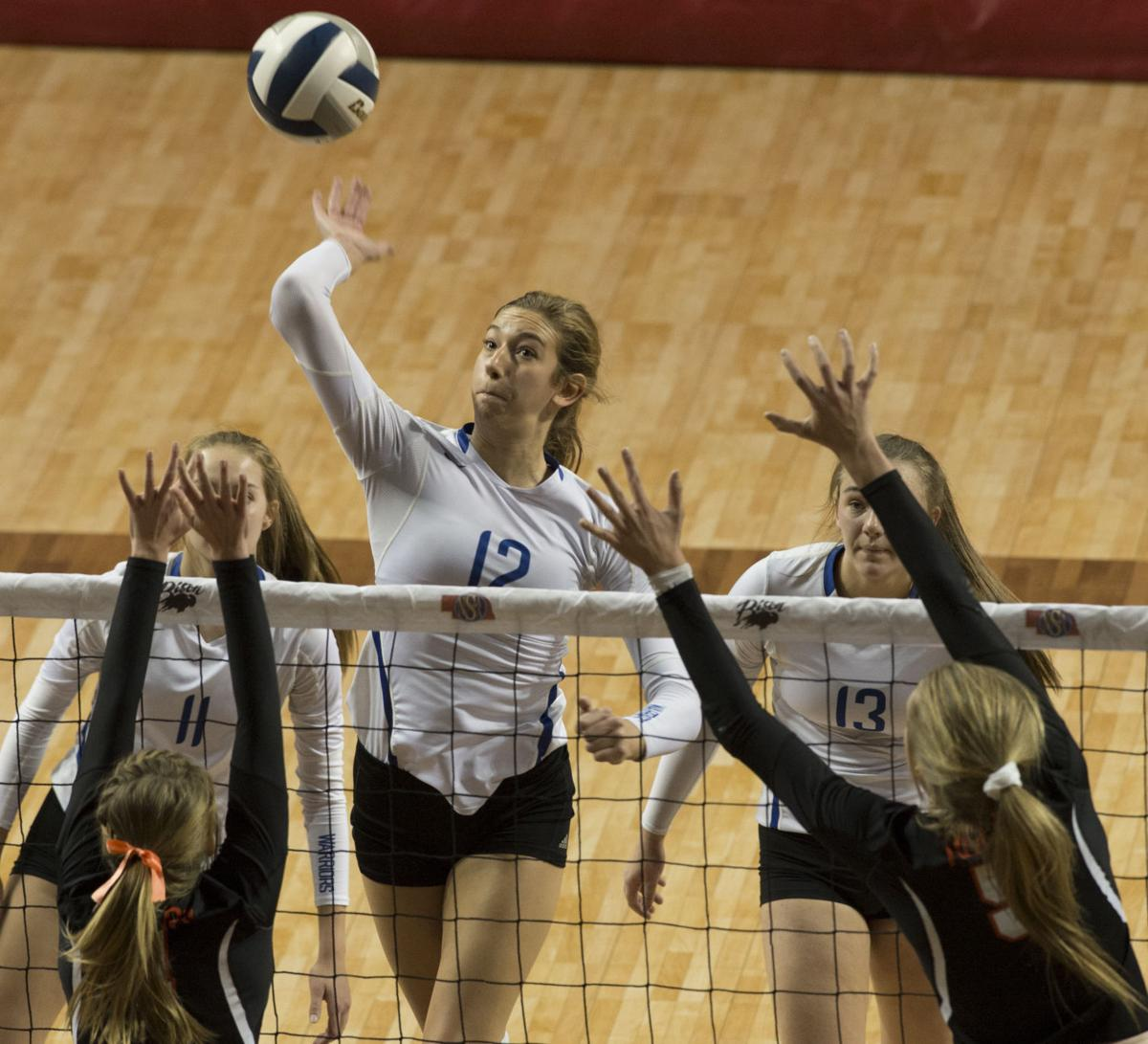 C-1: Wahoo vs. North Bend Central, State Volleyball semifinal, 11.10.2017