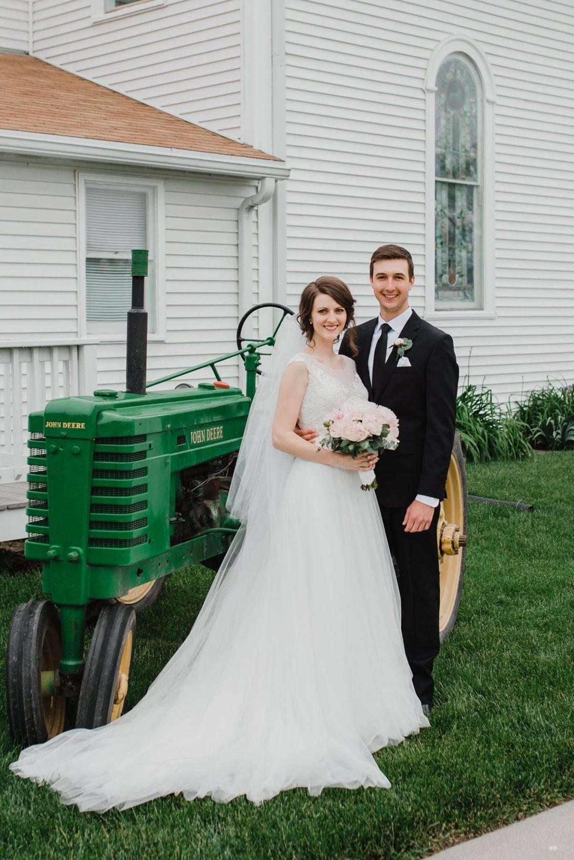 Mairin Wolfe weds Joshua Wehrbein