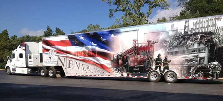 The 9/11 Never Forget Mobile Exhibit