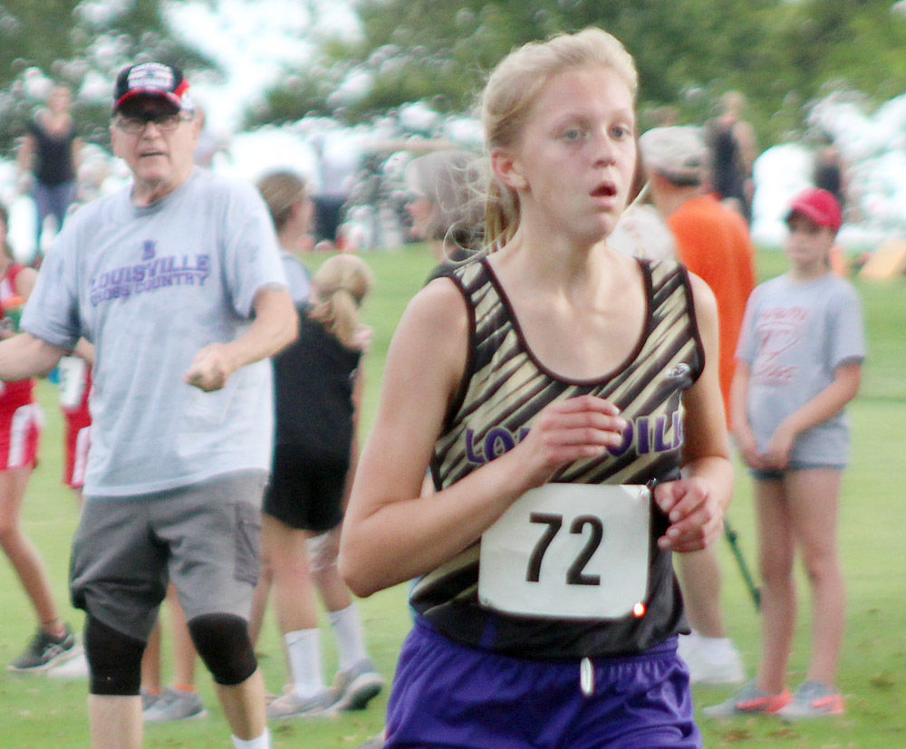 Hailey Teller medalist at Auburn