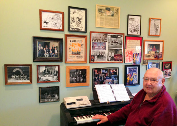 Bob Olsen at home