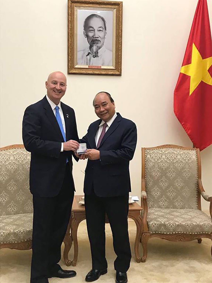 Ricketts in Vietnam