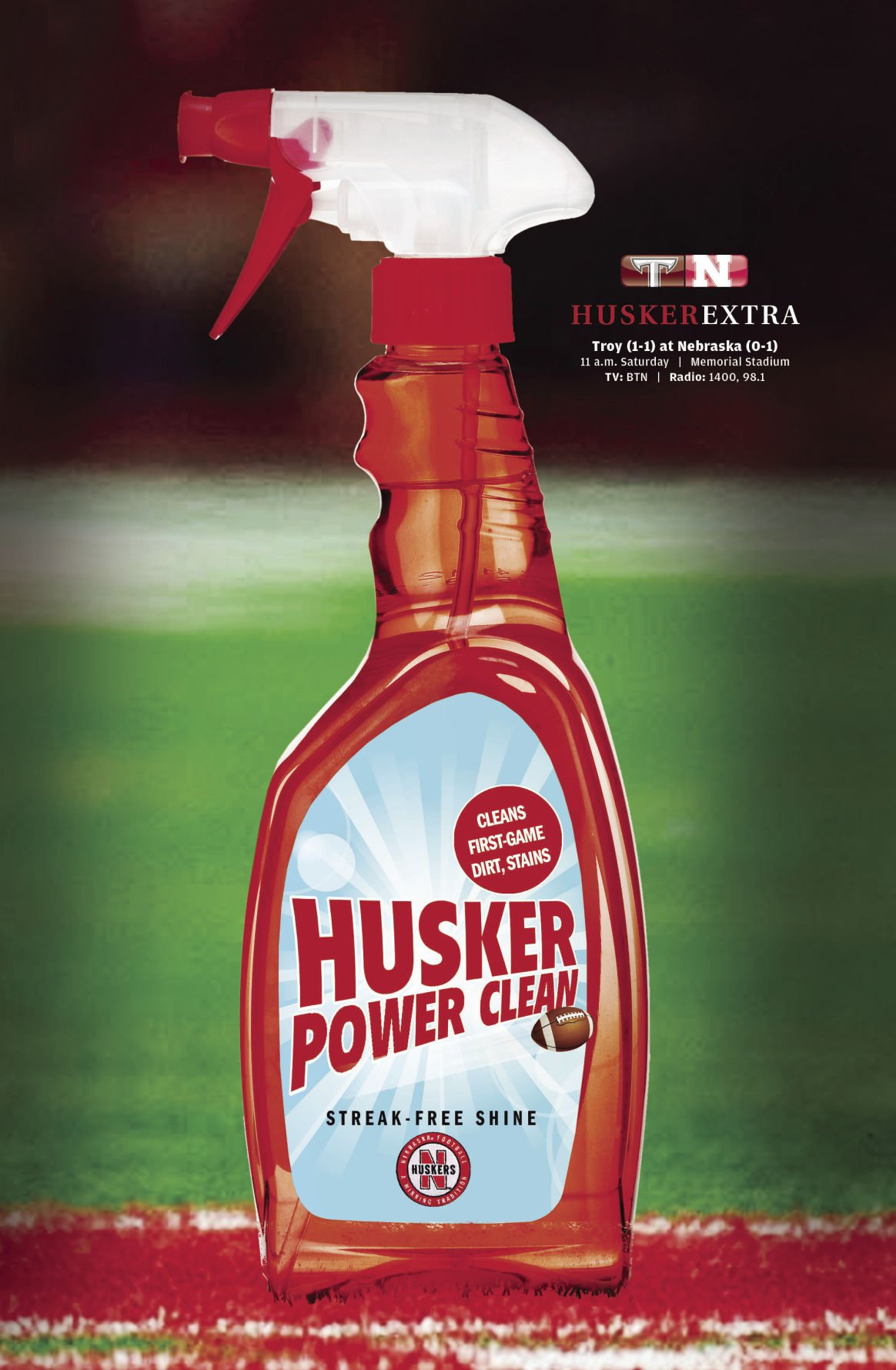Husker power clean illlo