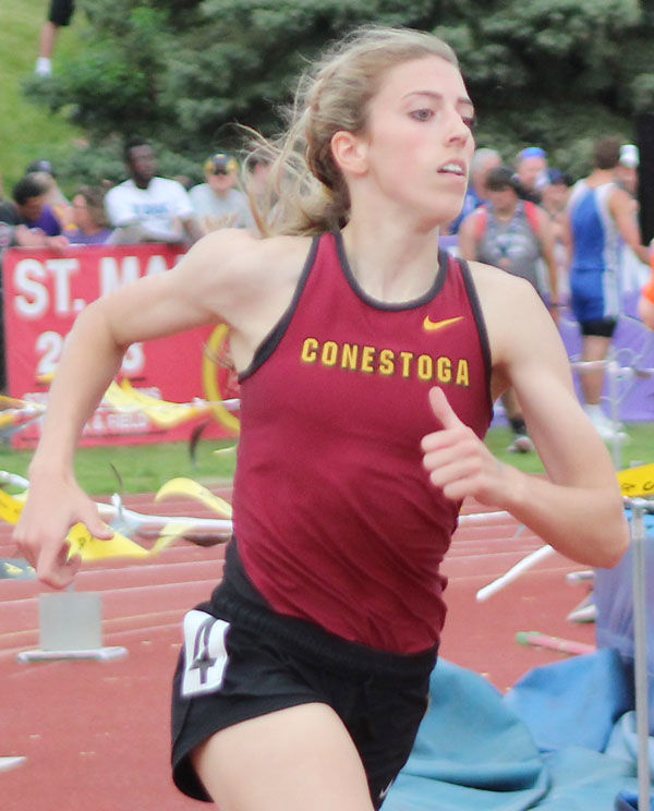 Conestoga Bella Hogue 400 meters prelims