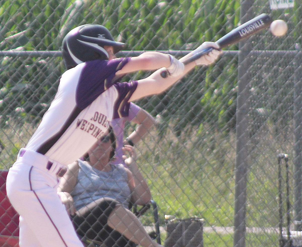 LWW Chase Savage bunts in second inning