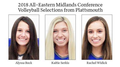2018 All-Eastern Midlands Conference Volleyball Selections from Plattsmouth