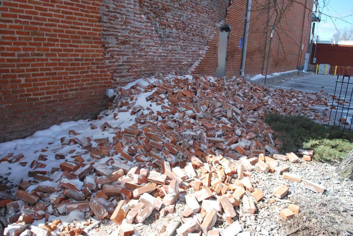 fremont opera house bricks falling