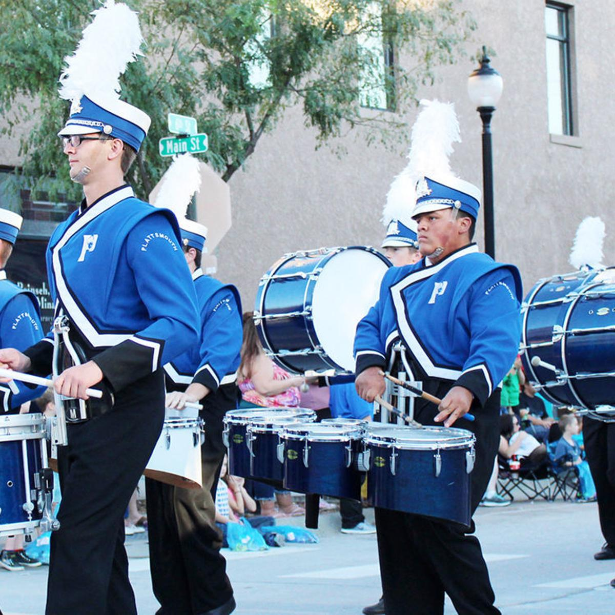 Plattsmouth earns top rating in state marching band contest