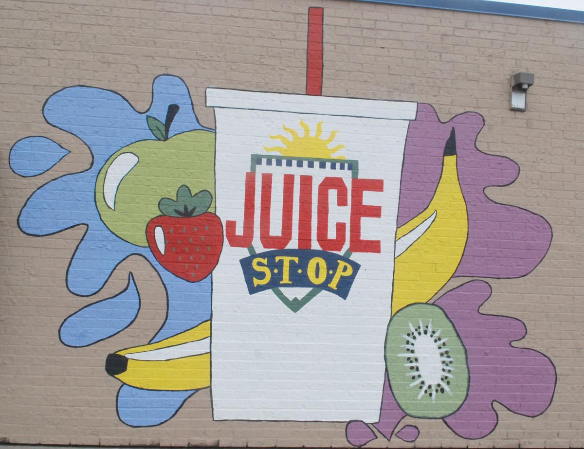 Juice Stop mural