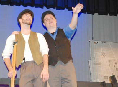 Newsies Cruchie and Jack