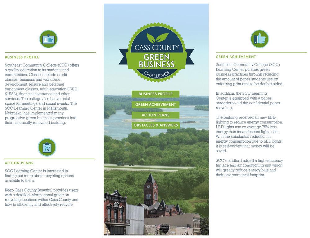 Brochure for SCC Plattsmouth Learning Center
