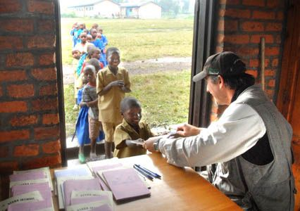 Jacobs fundraising effort helps students at Rwandan school